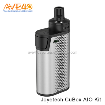 Best Selling E-cigs Products Vapor Starter Kits Express Joyetech CuBox AIO Starter Kit in Stock