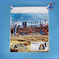 Drawstring Type plastic LDPE CPE HDPE Material Fashion custom gym sport bag