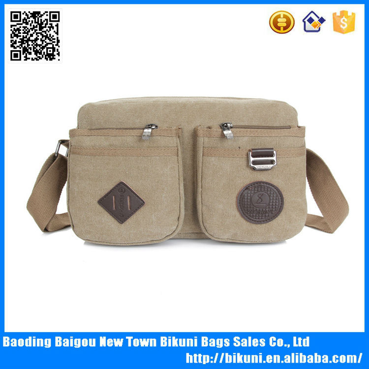 China supplier Guangzhou factory price wholesale bags students outdoor satchel bags cheap canvas messenger bag for teens