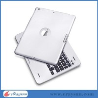 Bluetooth Wireless Metal Aluminum Keyboard Case Cover for Apple iPad 5 Air