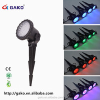 ABS 7w Submersible Led Rgb Multi Color Led Underwater Swimming Pool Lights