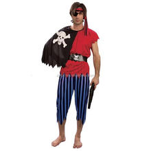 Adults halloween costumes cool man pirate costume men cosplay party costume