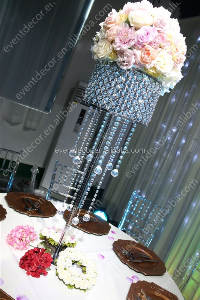 Crystal Chandelier Wedding Centerpiece For Table Decoration Buy