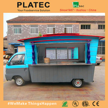 China Manufacture High Quality Food Truck Fast Food Van/Fast Food mobile kitchen van For Sale