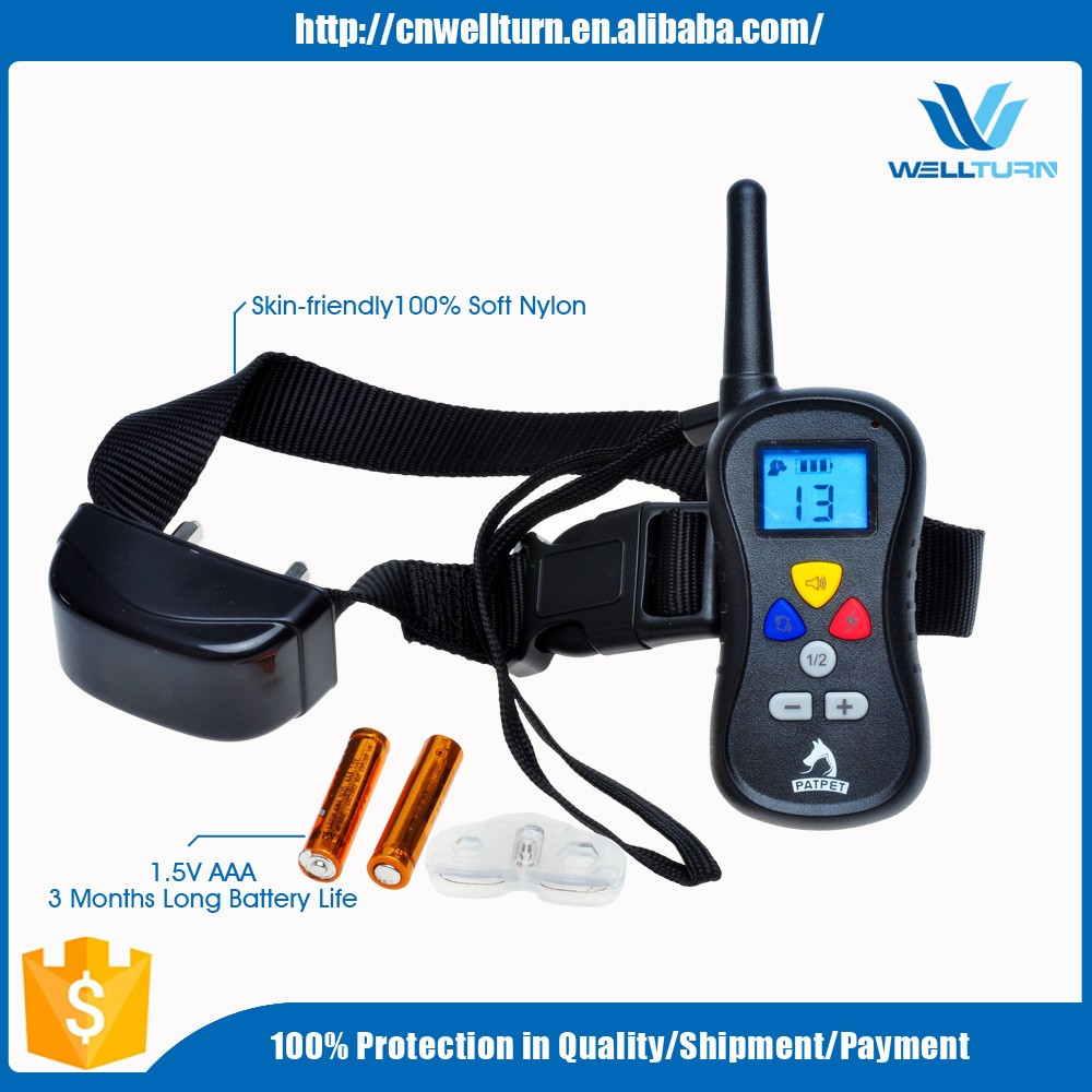2015 NEW Product 350 Yards Remote Vibration Shock Remote Control Multi-Dog Training System