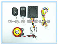 electric bike alarm/one way motorcycle alarm/motocycle remote alarm system
