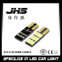 High Power led lamp 12v t10 led 5630 9smd canbus w5w auto car light bulb