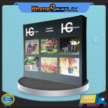 4*3 economical exhibition equipment pop up stand with carrying bag