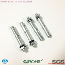 OEM ODM Air conditioner bracket parts zinc plated steel screws factory Galvanized screws made of steel