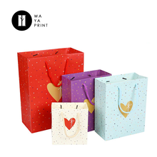 Round cotton rope Bulk sale baby gift high grade jewelry paper bag