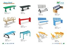 (HD-20312) Cheap Kids Modern park bench For Sale Customzied Design Welcome