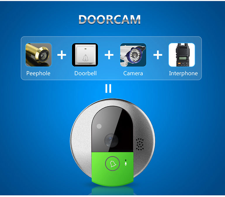 VStarcam Smart Home Plug and Play 720p security wireless doorbell camera ip camera kit