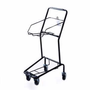 Yirunda cheap factory-made shopping basket trolley for wholesale