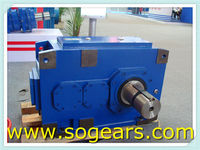 HB series Powerful Coal industry gear speed reducers
