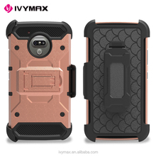 2017 IVYMAX Rugged tire defender mobile back cover phone cases for motorola cell phones moto G5 cases