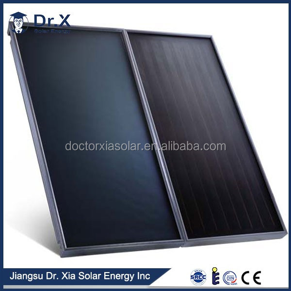 flat plate solar parabolic trough solar collector