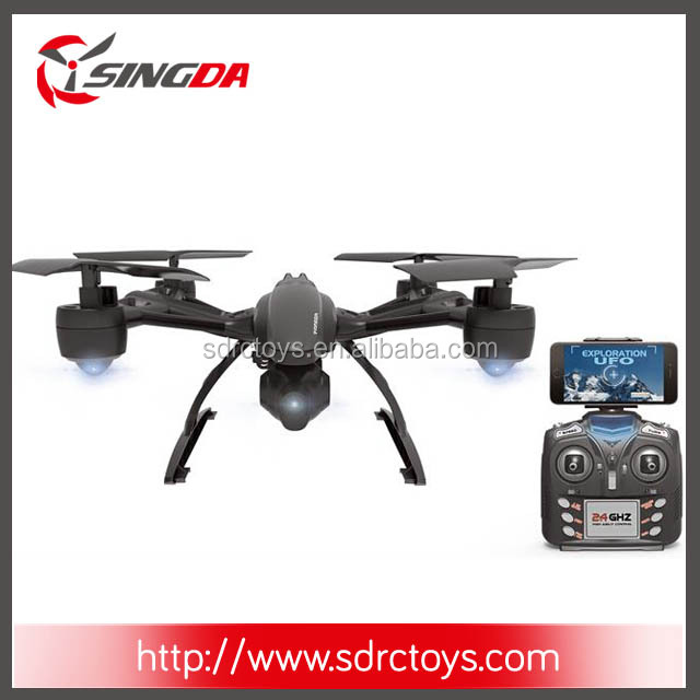 Monster drone JXD509W 2.4G 4CH ready to fly headless drone rc quadcopter with hd camera 0.3MP