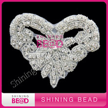 Hot Sale Rhinestone Applique Bridal Sash,Belts