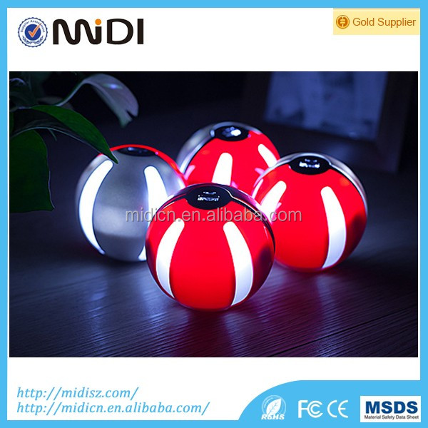 Mobile phone game Cosplay Pokeball toy funny Power Bank 10000 mah Pokemon go Ball with two output ports