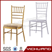 Modern stacking banquet hotel cadeira tiffany chair with YCX-A22