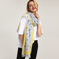 2018 fashion spring women polka dots scarf stole and shawl