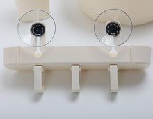 Popular Plastic Wall Mounted Suction Cup Bathroom Toilet Storage <strong>Shelf</strong>