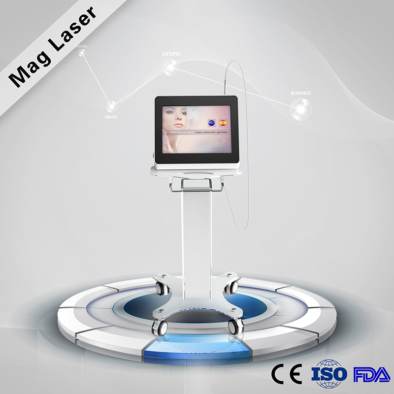 The Newest Technology vascular / veins / spider veins removal 940nm / 980nm diode laser medical product with CE