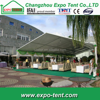 Large fireproof canopy for outdoor events