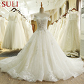 SL-66 Real Photos Alibaba Bridal Gowns Wedding Dresses 2017