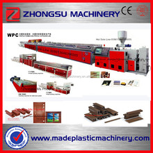 colored wooden WPC door jamb PVC door frame extrusion line /production line /making machine