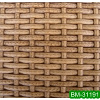 Natural Style Hand Woven Outdoor Furniture Plastic Wicker BM-31191