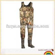 camouflage fishing chest waders