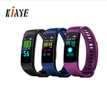 Fitness tracker Blood pressure & Oxygen Measure Smart Bracelet Y5 with USB Charger Sport band