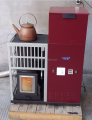 Cheap new automatic pellet stove any types pellets good pellet stove