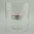 Cylinder Glass Candle Holder For Tealight Candle