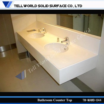 Solid Surface Countertop Hotel Bathroom Vanity Bathroom Countertop Buy Bathroom Countertop