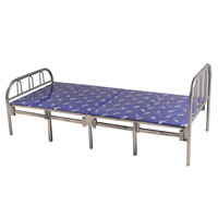Low height fold out single bed