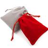 Brand new suede single/double drawstring pouch,handmade color microfiber jewelry bags,velvet fabric jewelry bags