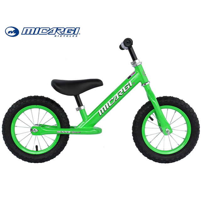 Micargi Kids Balance bmx Bike HUNTER SPORT 12 inch mini Air Tires Push bicycle