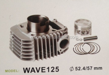 motorcycle cylinder kit for WAVE125