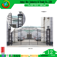 Modern iron house door and windows grill design/functional wrought iron window grill for villa