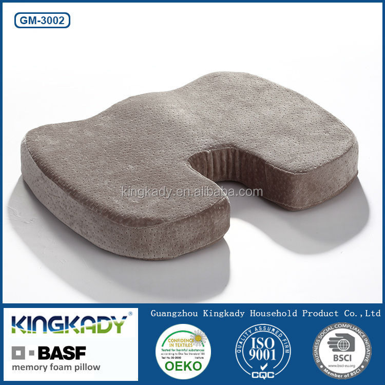 Hot wholesale disposable airline headrest cover office car chair seat health care memory foam mat cushion