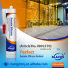 Non Toxic Certificated Prefessional Waterproofing Acetic Silicone Sealant For Aquarium