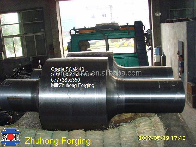 mild steel shaft supplier 42CrMo alloy steel round shaft for export forgings