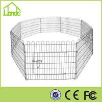 China supplier Wire Fence Pet Dog Folding Exercise Yard Metal Playpen