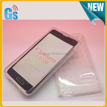 Protective Jelly Skin TPU Soft Gel Case For LG Optimus F3 Cover LS720 MS659