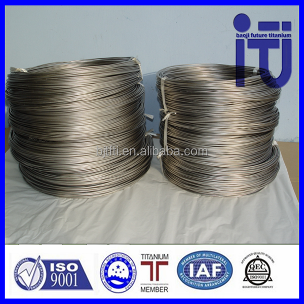 Shape Memory Alloy Wire New Products Titanium Welding Wire titanium tig wire