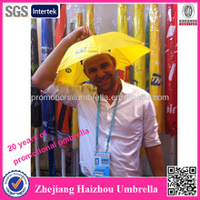 2015 promotional sun umbrella hat