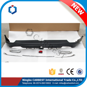 High Quality New 2016 Patrol Lip Spoiler For Nissan 2015 Rear Bumper