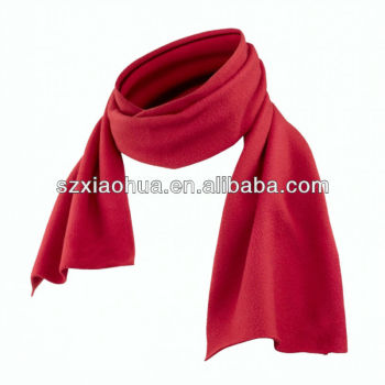 XH-1264 promotional polar fleece scarf